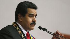<p>President Nicolas Maduro i Venezuela<br/></p>