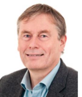 <p><b>GLAD:</b> Legatbestyrer Øystein Solheim Lien ved Radiumhospitalets legater.</p>