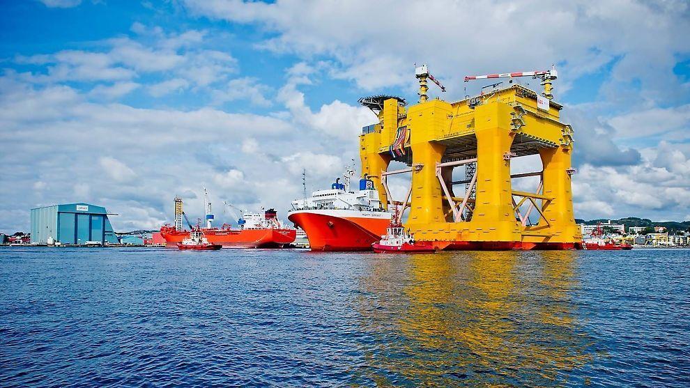 <p>Bildet er fra Aibel i Haugesund. Selskapet sikret seg nylig en milliardkontrakt på Johan Sverdrup-feltet.</p><p><br/></p>