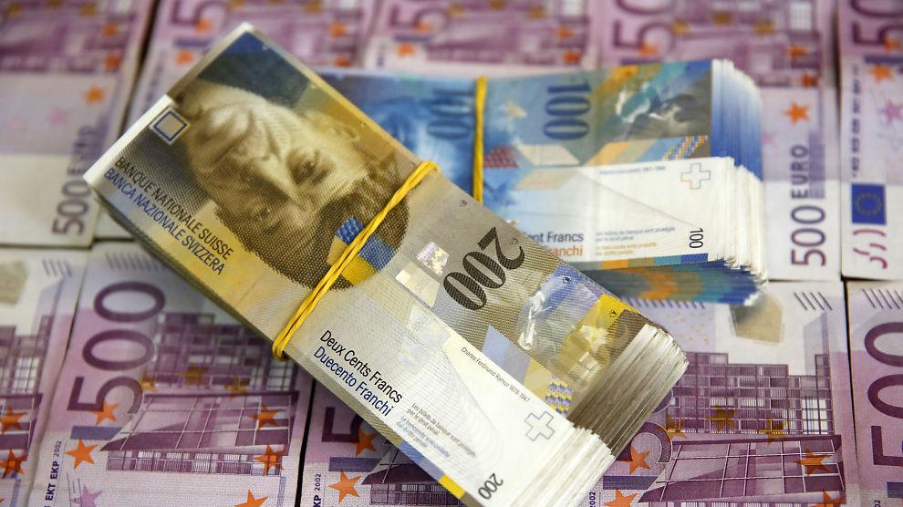 Sveits valuta euro