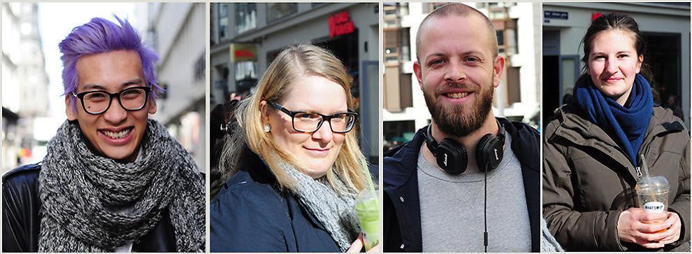 <p><b>HVA ER MEST IRRITERENDE MED MØTER?:</b> E24 har spurt (fra venstre) Tri Dinh Le, Ann Karin Myhrås, Bjørn Granlund og Anita Myhrås.</p>