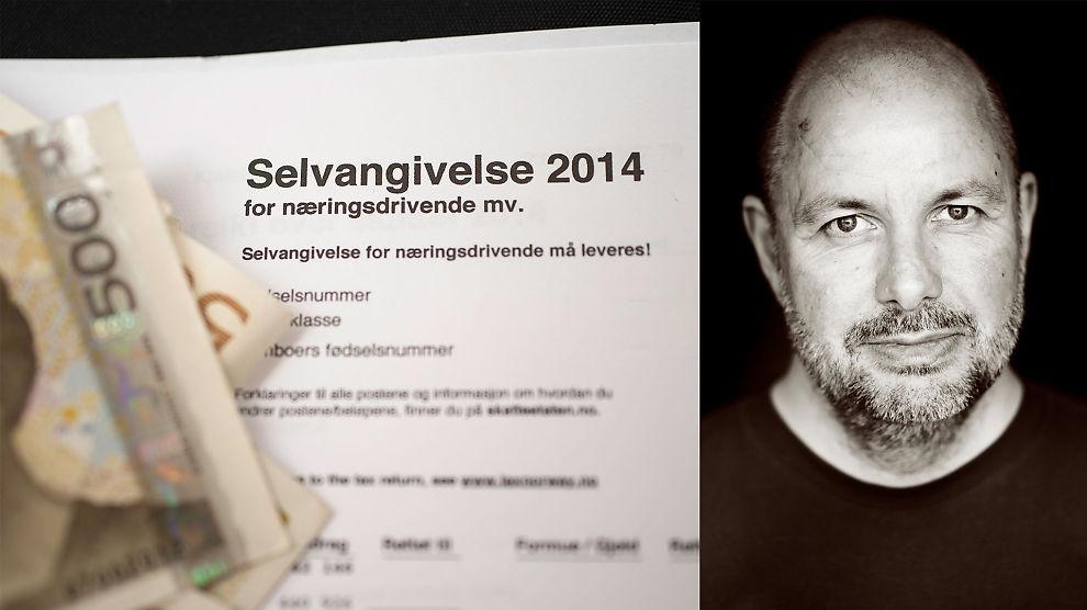 <p><b>- BURDE IKKE FÅTT LOV:</b> Eivind Lund, som har drevet en liten virksomhet, mener han så liten innsikt i bedriftsøkonomi at han strengt tatt ikke burde fått lov til å fylle ut næringsoppgaven selv.</p>