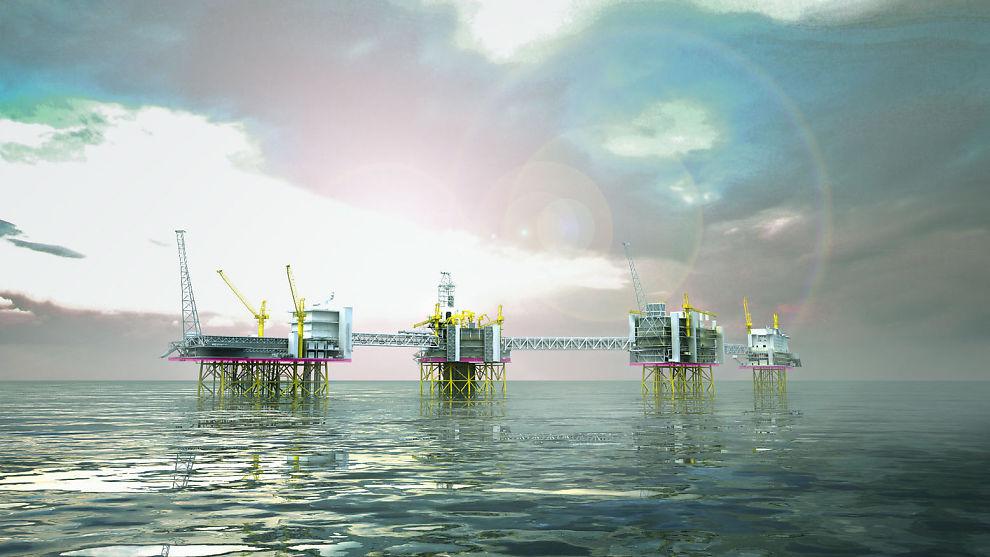 <p><b>TREKKER OPP:</b> Gigantfeltet Johan Sverdrup er en av årsakene til at Rystad Energy ser bedring i oljeservicemarkedet innen et par år.<br/></p>