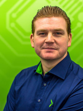 <p>Kommunikasjonssjef Øystein Schmidt i Elkjøp.<br/></p>