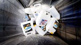 <p><b>PLAST UTEN PANT:</b> Det gis ikke pant på vindusspylervæske, men den skal resirkuleres i likhet med brusflasker.</p>