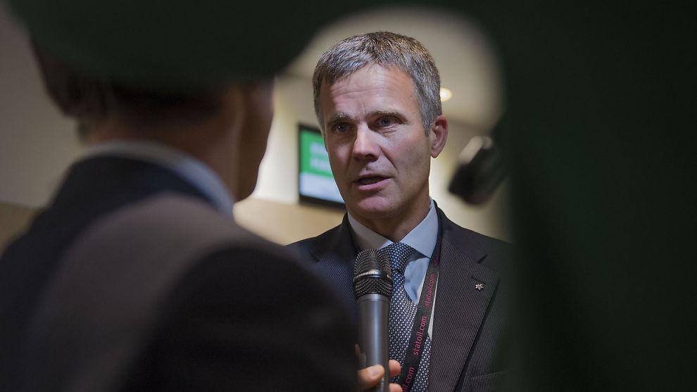 <p><b>KORT TID I SJEFSSTOLEN:</b> Torsdag har Helge Lund vært konsernsjef i BG Group i akkurat to måneder. Nå kan selskapet bli solgt til Shell.<br/></p>