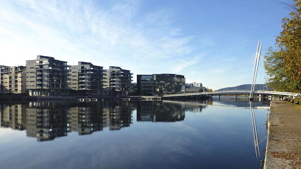 <p><b>ROLIG</b>: Eiendom Norge tror ikke Finansdepartementet trenger å bruke noen av verktøyene Finanstilsynet foreslår. Her ser vi et boligområde i Drammen.<br/></p>
