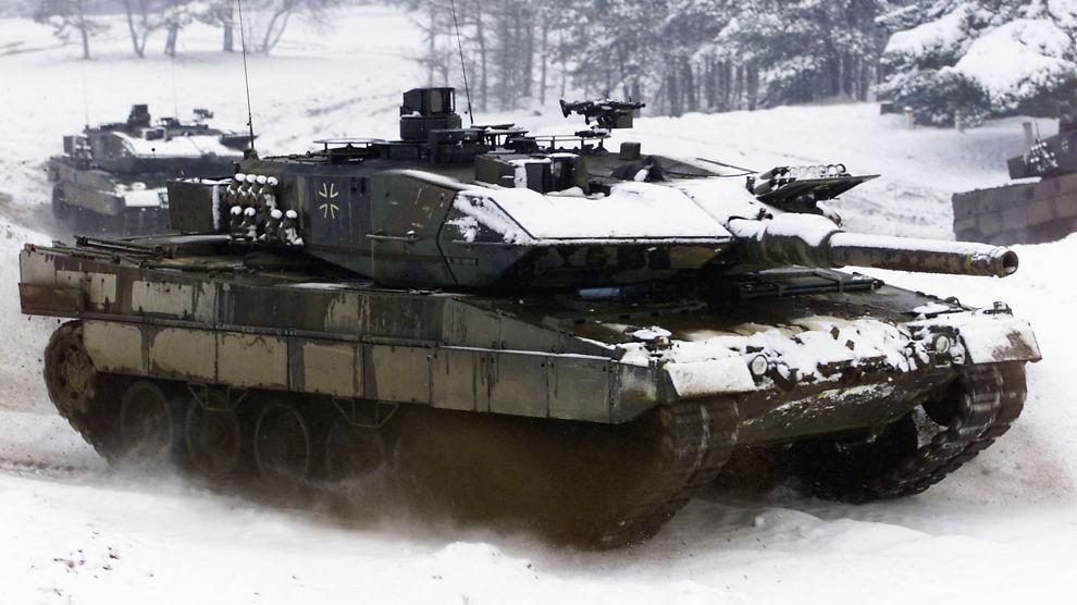 Stridsvogn leopard 2
