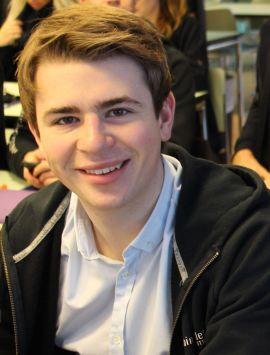 <p>Leder for bedriftsgruppen i Bindeleddet-NTNU, Mats Erik Mikkelsen.<br/></p>