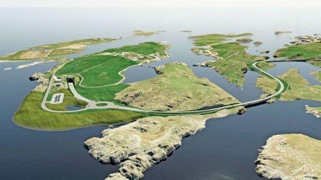 <p><b>DET STØRSTE:</b> Rogfast er for tiden Norges største veiprosjekt.</p>