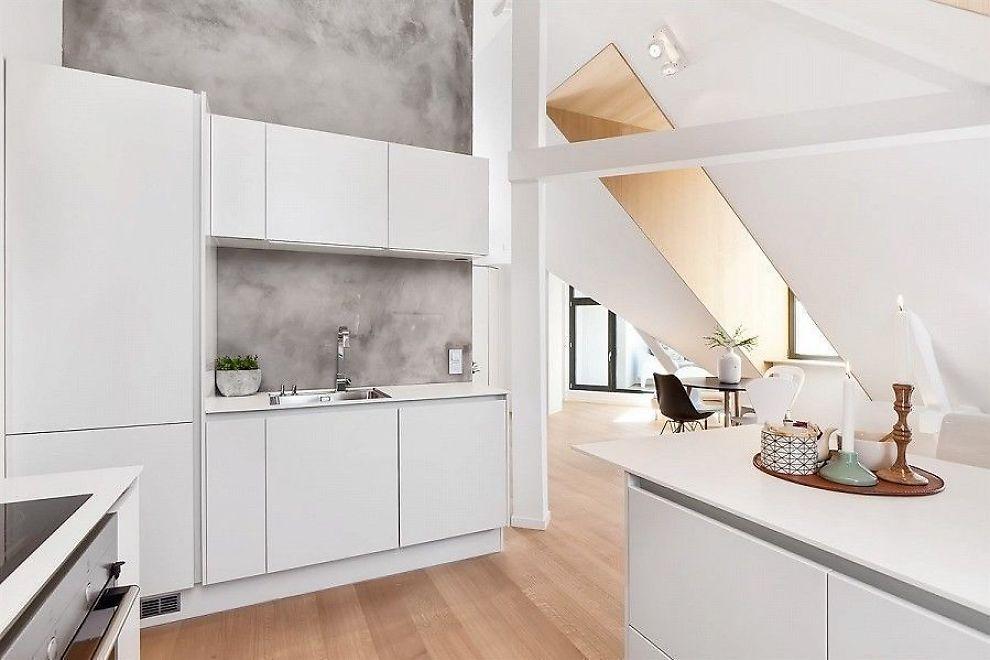 Lars Hvi hadde aldri trodd han skulle f lov til bygge leiligheten slik ...