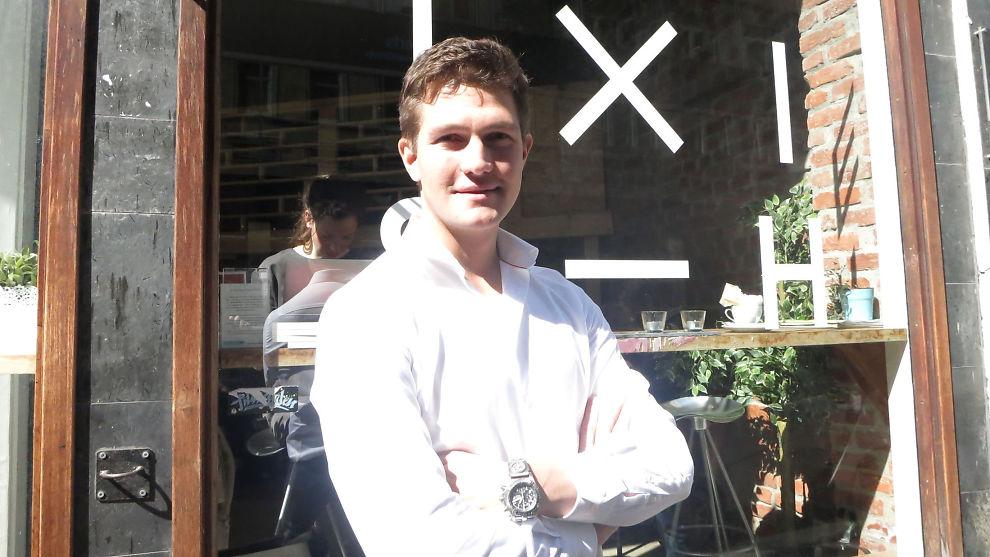 <p><b>NY JOBB:</b> Sjefen i Uber Norge, Carl Edvard Endresen, sier at Uber vokser svært fort i Oslo.Her er han utenfor Mesh-lokalene i Oslo sentrum.</p>