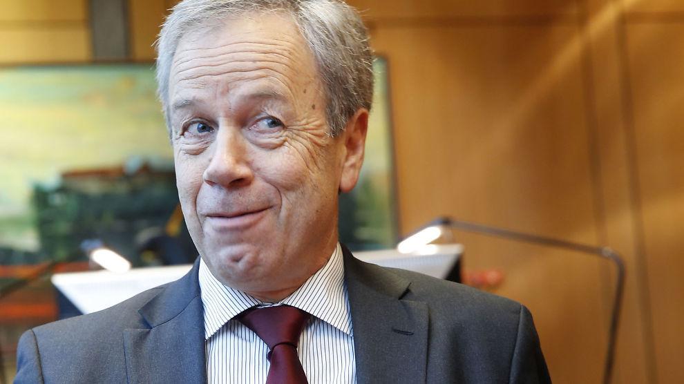 <p><b>SANNSYNLIG RENTEKUTT:</b> Det er stor sannsynlighet for at Sentralbanksjef Øystein Olsen og resten av Hovedstyret i Norges bank beslutter å kutte renten i juni.<br/></p>