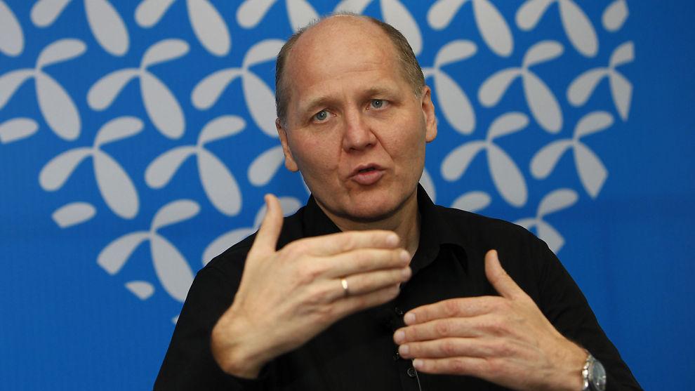 <p><b>NY SJEF:</b> Telenors Asia-sjef Sigve Brekke blir ny konsernsjef i Telenor når Jon Fredrik Baksaas går av.</p>