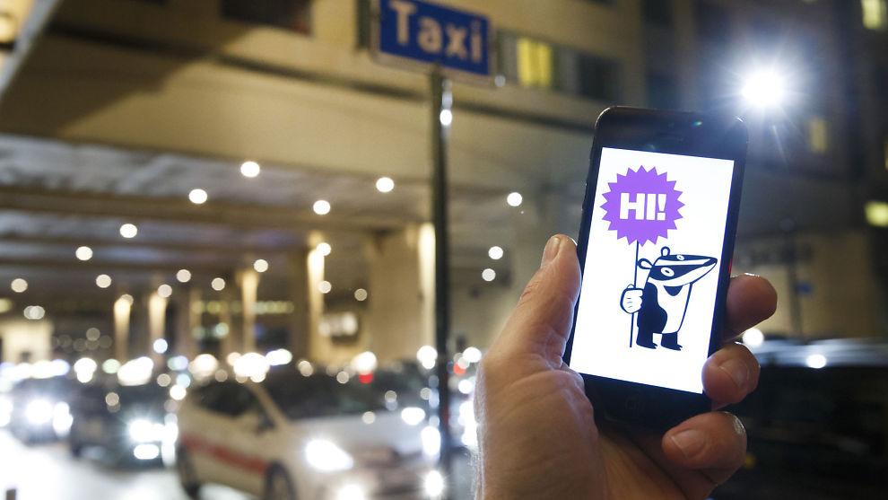 <p><b>APP:</b> Haxi har en digital plattform som kobler sammen ledige sjåfører med folk som trenger skyss.</p>