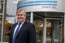 <p><b>TAKKER FOR SEG:</b> Konsernsjef Henrik Madsen i DNV GL, gir seg nå som sjef for det gigantiske verdensomspennende konsernet.</p>