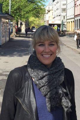 OPPLEVER ØSTKANT-BYKS: Maren Synnevåg, kommunikasjonsdirektør i meglerkjeden iHus.