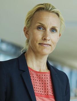 Randi Marjamaa, konserndirektør for privatmarkedet i Nordea.