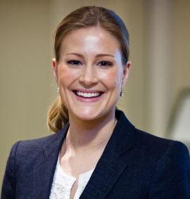 Martine Aarrestad, leder for UNG-teamet hos Nordea.