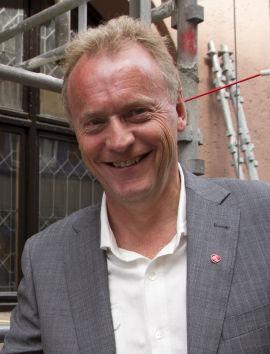 KRITISERER: Byrådslederkandidat i Oslo, Raymond Johansen (AP) kritiserer Byrådet i Oslo for manglende måloppnåelse for boligbyggingen.