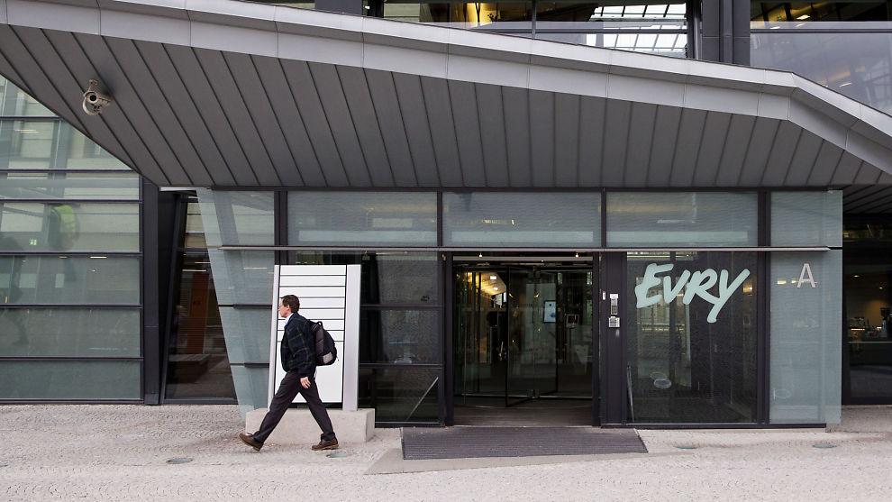 <p><b>FIKK SJELDENT «NEI»:</b> Oslo Børs har avvist Evrys søknad om stryking av selskapets notering.<br/></p>