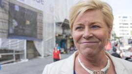 <p>Finansminister Siv Jensen (Frp) får en rapport om oljepengebruk torsdag.</p>