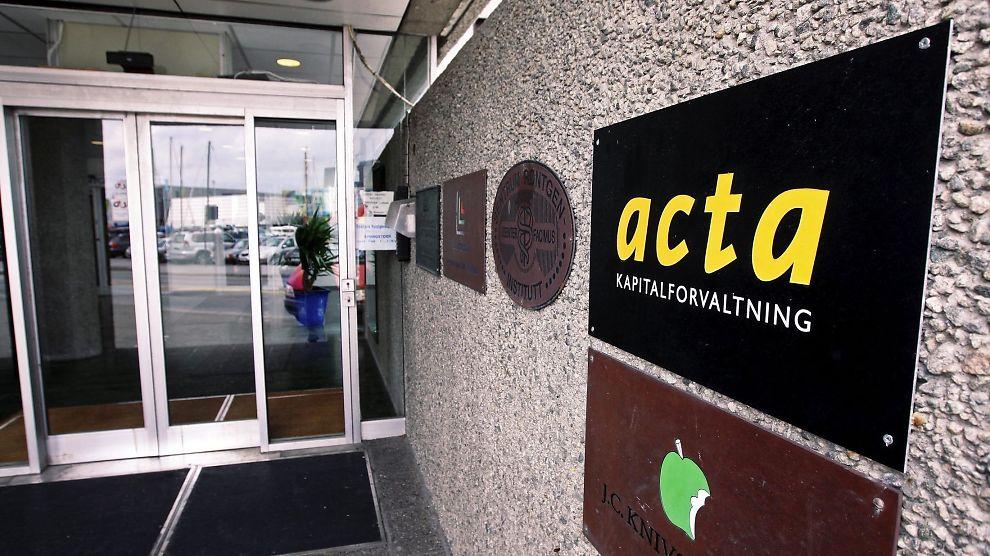 <p><b>INGEN FLERE KLAGER:</b> Agasti sier de trekker seg ut av Finansklagenemnda fordi de nå har avviklet Acta-virksomheten som solgte investeringsprodukter til privatpersoner.</p>