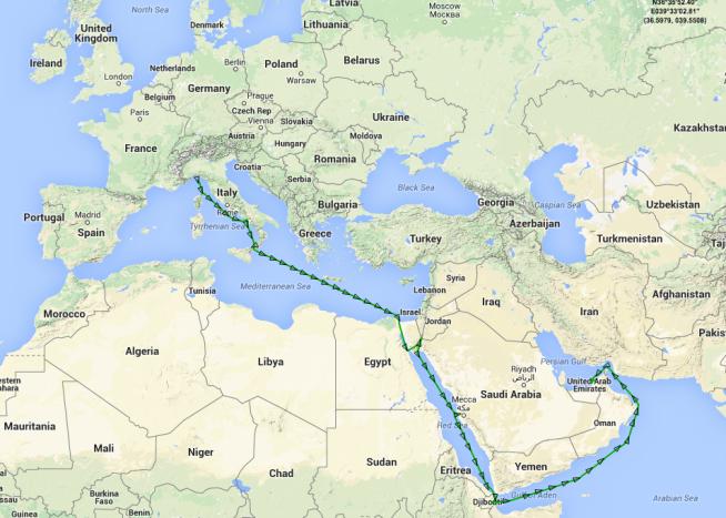 arabiske emirater kart Oljefondet tjener på bomberegover Jemen   Makro og politikk   E24 arabiske emirater kart
