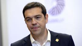 <p><b>STATSMINISTER:</b> Alexis Tsipras fra det venstreorienterte Syriza, søsterparti med Rødt og SV i Norge, ble valgt etter et valgskred i januar. Han gikk til valg på å fremskaffe en endelig løsning med kreditorene, og motsatte seg de til dels strenge kuttiltakene i den gresk velferdsstaten. som kreditorene har krevd.<br/></p>