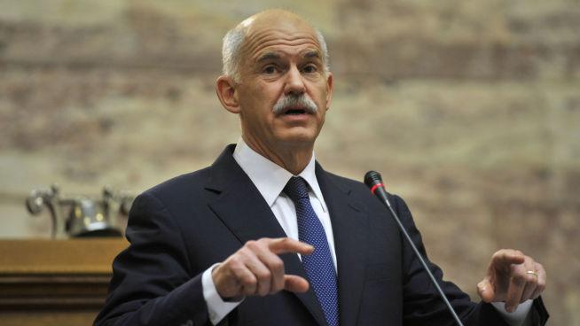 <p><b>VAR STATSMINISTER:</b> George Papandreou var statsminister i Hellas da krisen ble akutt i 2010, og Hellas måtte få krisepakke.</p>