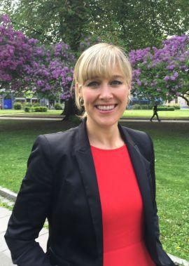 Maren Synnevåg, kommunikasjonsdirektør i iHus.