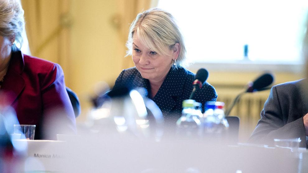 <p><b>ÅPNER</b>: Næringsminister Monica Mæland (H) og Næringsdepartementet har sendt ut et høringsforlag som åpner for at Norge kan bli søksakt internasjonalt.<br/></p>