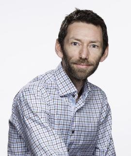 Informasjonssjef i Gjensidige, Christian Haraldsen.