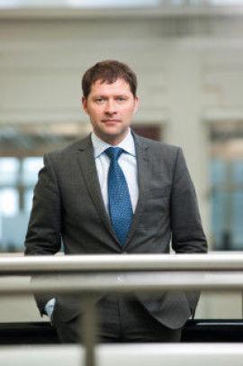 Informasjonsdirektør i Nordea, Rune Sjøhelle.