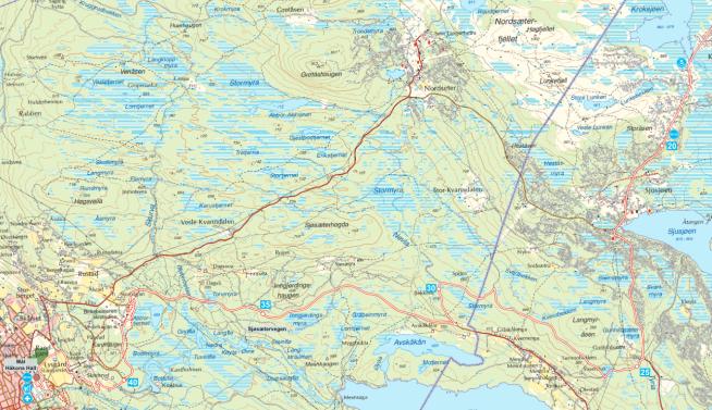 <p>Kartet viser hvor Halvbirken-løypen går.<br/></p>