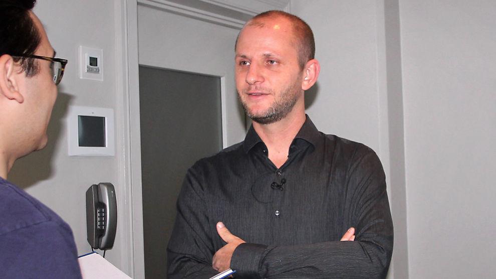 <p><b>SATSER PÅ NETTSPILL:</b> Konsernsjef Robin Reed i Gaming Innovation Group holdt tirsdag sin første kvartalspresentasjon.<br/></p>
