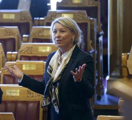 <p><b>UTÅLMODIG:</b> Næringsminister Monica Mæland vil har fortgang i likestillingsarbeidet i store norske bedrifter.<br/></p>