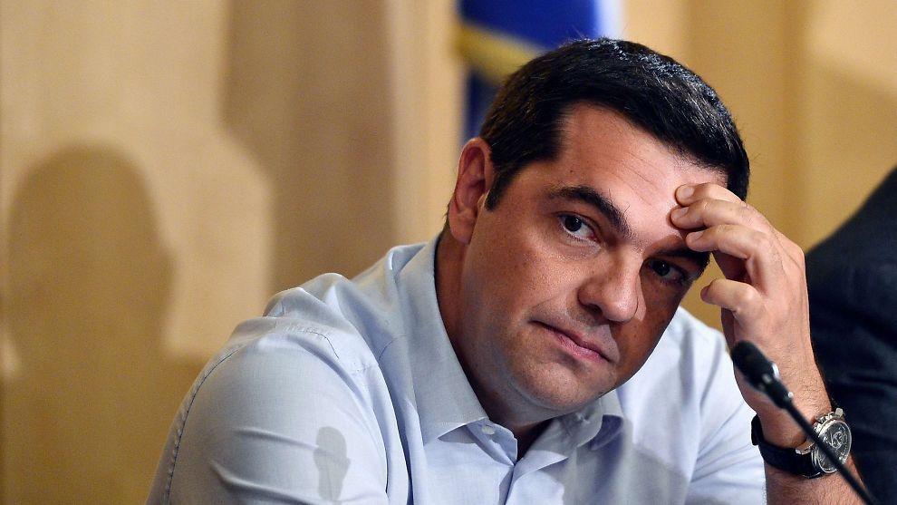 <p><b>TREKKER SEG:</b> Hellas' statsminister Alexis Tsipras.<br/></p>