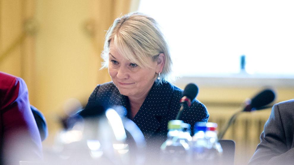 <p><b>PENGEDRYSS:</b> Næringsminister Monica Mæland vil gi millioner til gründere.</p>