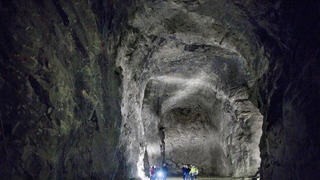 Lokale ildsjeler i Måløy i Sogn og Fjordane har satt seg fore å skape verdens største datasenter i gamle Lefdal gruve. FOTO: KYRRE LIEN/VG