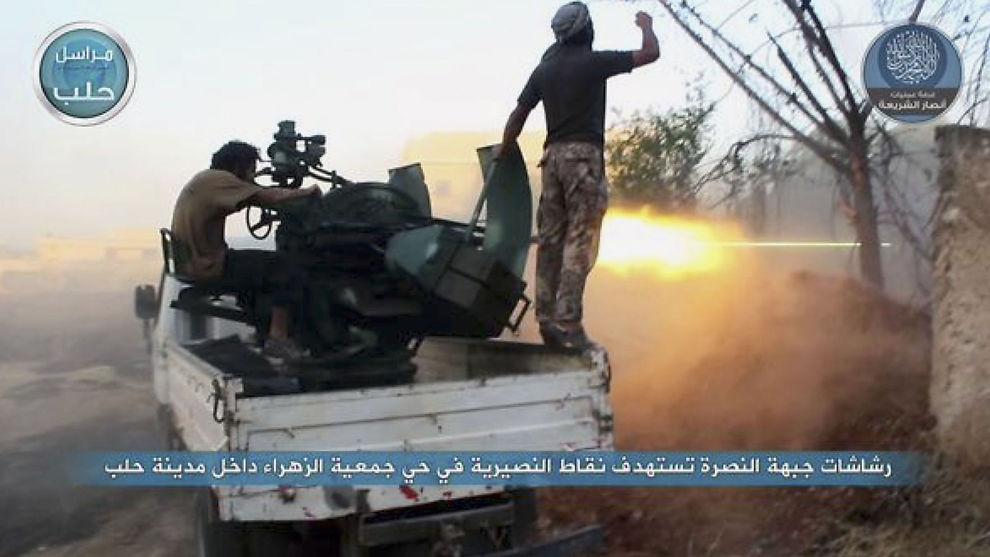 borgerkrigen i syria artikkel