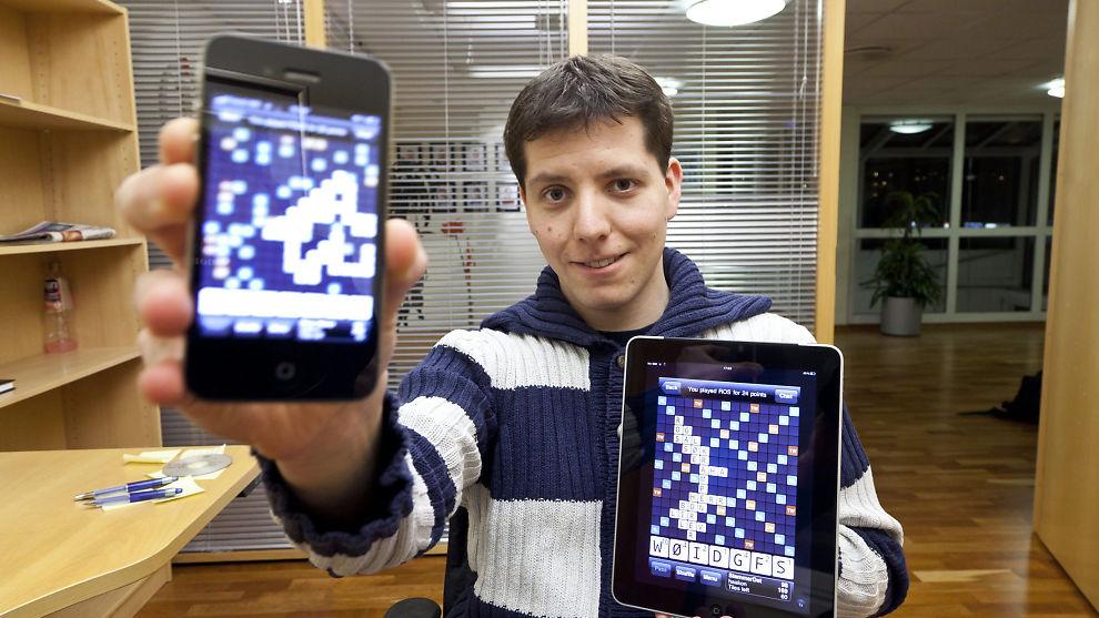 <p><b>KNALLÅR:</b> Wordfeud-gründer og app-utvikler Håkon Bertheussen har tjent gode penger de siste årene.<br/></p>