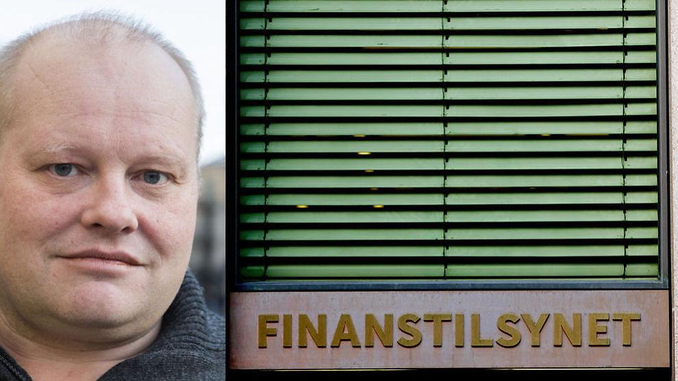 <p><b>– SKANDALE:</b> Talsperson Gordon Spangelid i «Steng Oslo Creditservice» mener det er en bevisst strategi for Oslo Creditservice å satse på seier ved fraværsdom i forliksrådet.</p>