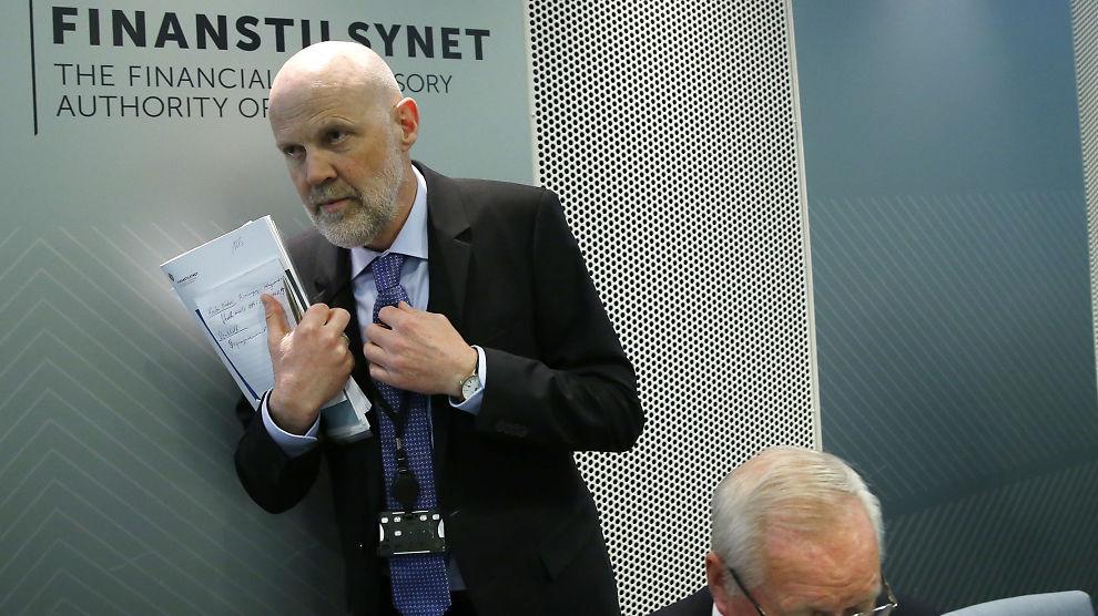 <p><b>STERKE MISTANKER:</b> I januar i år gikk Finanstilsynet til politianmeldelse av Oslo Creditservice. Men saken ble henlagt av Oslo-politiet. Her er finansdirektør Morten Baltzersen i en annen sammenheng.</p>