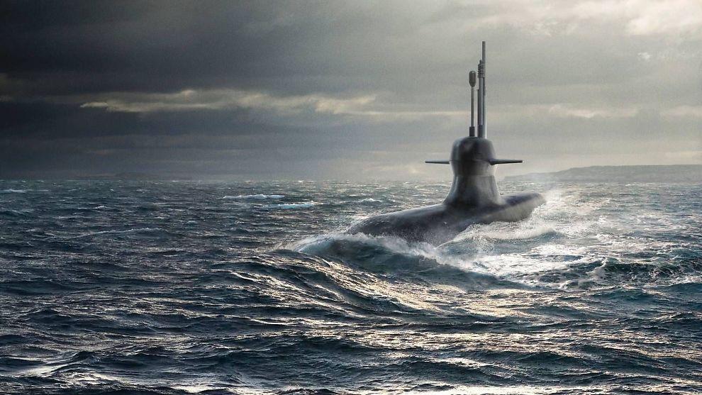 SUPERUBÅT: Saab Kockums har nettopp startet byggingen av den første A26-ubåten for det svenske sjøforsvaret.