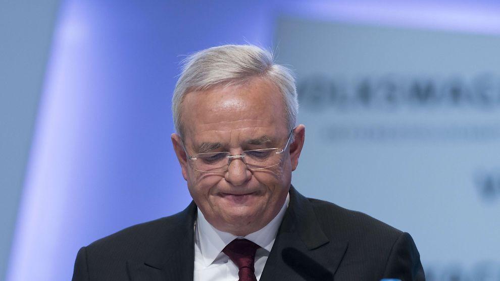 <p><b>GÅR AV:</b> Martin Winterkorn trekker seg som sjef i Volkswagen.<br/></p>