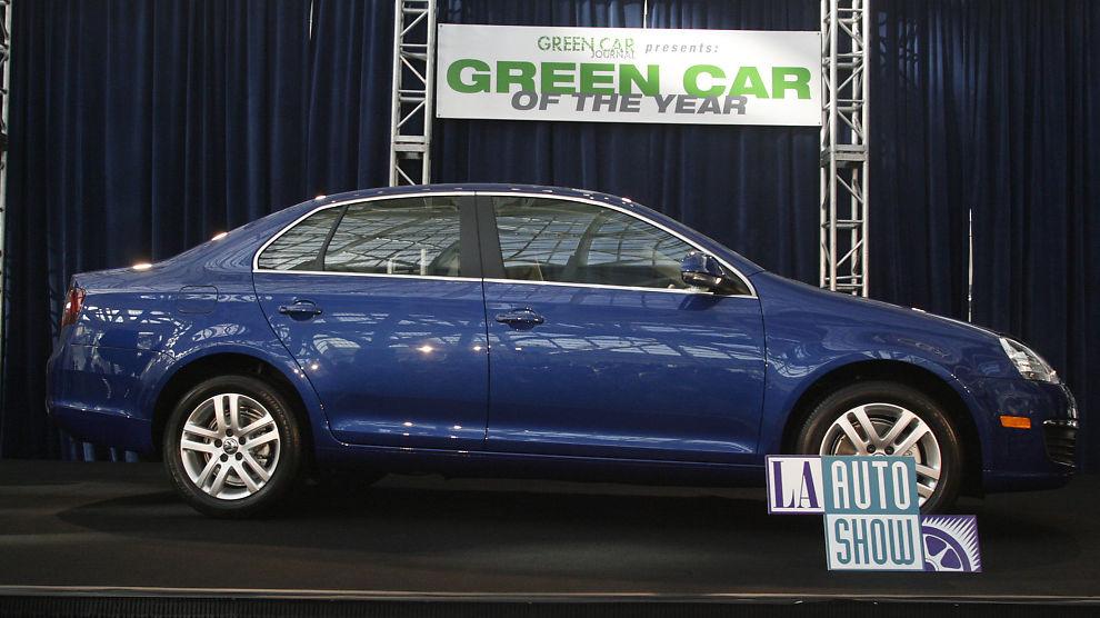 <p><b>MISTER POKALEN:</b> Volkswagens 2009-modell av Jetta TDI (diesel) ble i november 2008 kåret til «Green Car of The Year» av Green Car Journal på bilutstillingen i Los Angeles. Denne prisen er nå trukket tilbake.</p>