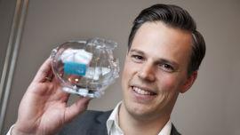 <p><b>IKKE HELT FORNØYD</b>: Informasjonsdirektør Even Westerveld i DNB.<br/></p>