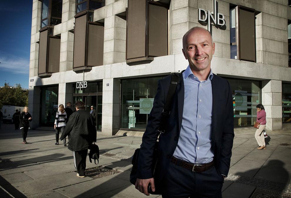 FÅ ER AKTIVE: BN Bank-sjef Gunnar Hovland sier en ny undersøkelse viser at over halvparten av landets boliglånkunder aldri har byttet bank. Han angriper blant annet giganten, DNB.