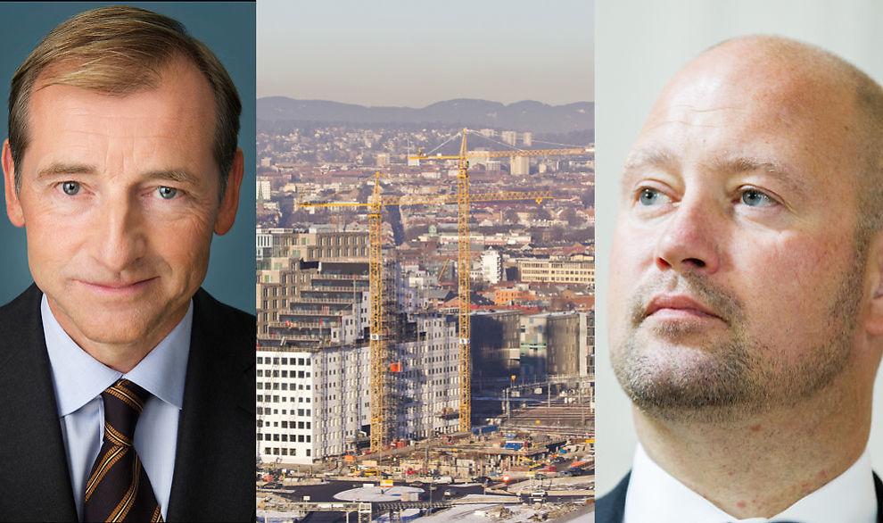 <p><b>– GJØR IKKE NOK</b>: Direktør Carl O. Geving i Norges eiendomsmeglerforbund ber Anders Anundsen totalrenovere avhendingsloven, som regulerer bruktboligsalg.<br/></p>